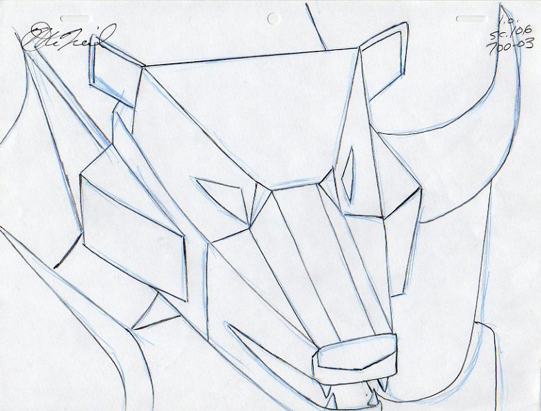 One Line Art Animation : Hyaena gallery animation artwork transformers g